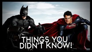 7 MORE Things You (Probably) Didn't Know About Batman AND Superman!