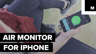 iPhone gadget helps you detect health hazards lurking in the air