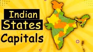 Learn Indian States & Its Capitals - India Map | General Knowledge Video screenshot 5