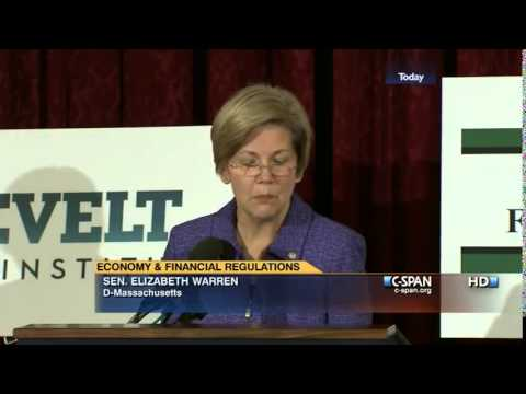 Senator Elizabeth Warren on the 21st Century Glass-Steagall Act