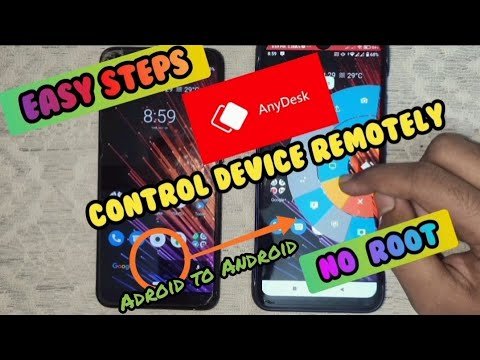 Control Android device Remotely with Anydesk__Control Android device with another Android device