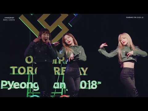 Free Download Exid (이엑스아이디) - Le - Velvet (including The Rap Part From Kcon) [fmv] Mp3 dan Mp4