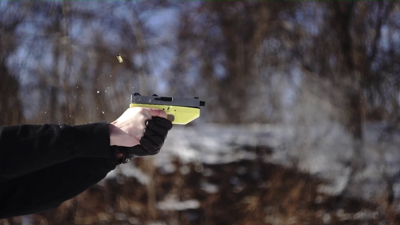 3D Printed 9mm Glock 19 PLA