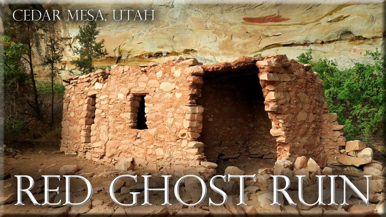 Red Ghost Ruin Doll House Cedar Mesa Utah Bears Ears National