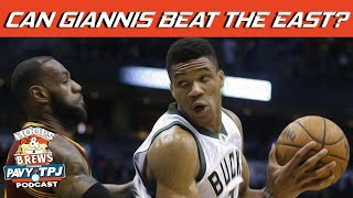 Can Giannis Conquer East? | Hoops N Brews thumbnail