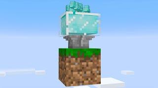 I built a DIAMOND MACHINE on 1 block Skyblock... (#18)