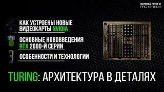 Устройство ядра Turing / GeForce RTX и новые технологии для геймеров и разработчиков