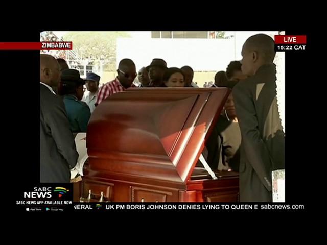 WATCH   Robert Mugabe's body lies in state