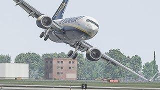 The WORST Plane Landing Ever