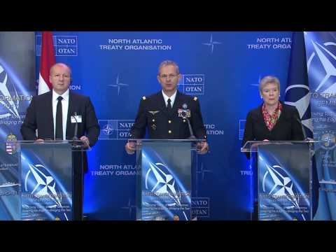NATO w/CC: 3-23-17. Supreme Allied Commander Joint Press Conference In Hungary.