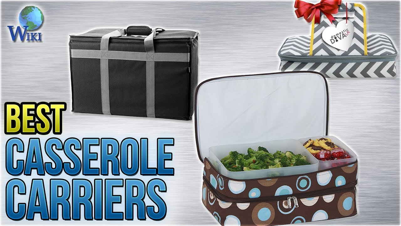 Top 10 Casserole Carriers of 2019 | Video Review