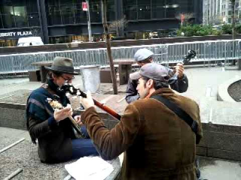 Band of block zuccotti park ows