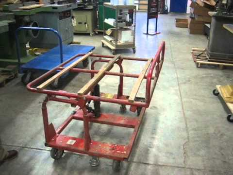 Sold Used Hafele Model Hpc Panel Handler Shop Cart