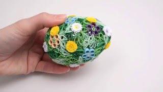 3D quilling: quillingové vajíčko