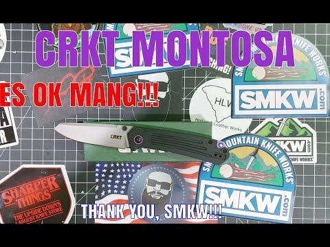 CRKT MONTOSA Knife Review: WAY BETTER THAN OK MANG!!!