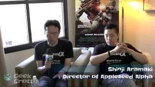 2014 San Diego Comic-Con Interview - Shinji Aramaki About Appleseed Alpha