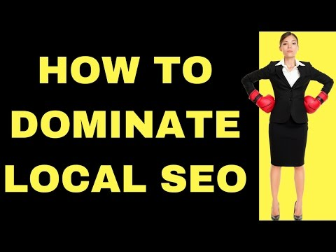 How To Dominate Local SEO 🚁 (Live Walk Through Tutorial)