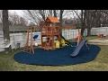 Backyard Adventures Thunder Ridge Cedar Swingset build