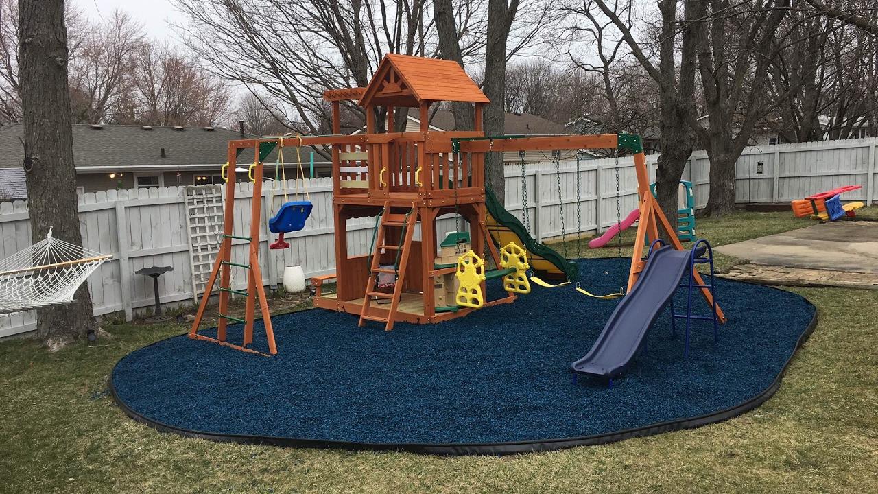 Backyard Adventures Thunder Ridge Cedar Swingset build ...