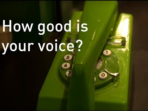 Could you be the new voice of the 'Speaking Clock'?