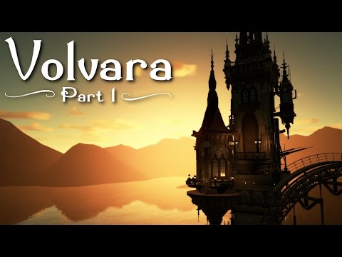 Planet Coaster - Volvara (Part 1) Floating Steampunk Castle