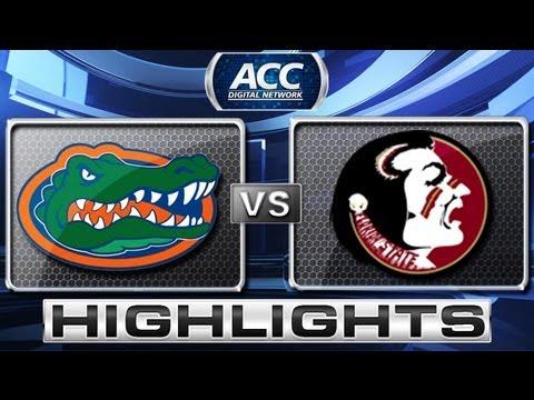 Florida vs Florida State Football Highlights - 2012