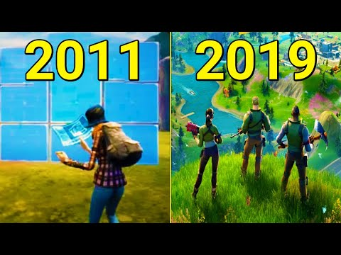 Evolution Of Fortnite 2011-2019
