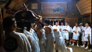 平成27年7月18日・19日2日間の赤馬祇園祭、最後に須賀神社本殿内にて御...