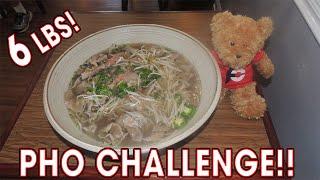 ENORMOUS Vietnamese PHO Challenge in NOLA!!