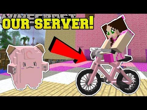 Minecraft: OUR OWN MINECRAFT SERVER CHALLENGE!! - POPULARMMOS WORLD [1]