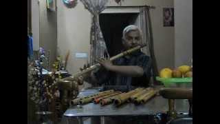 Wadian Mera Daman Rastey Meri Bahen : On Flute