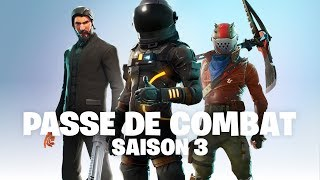 Anuncio del pase de combate de la temporada 3 (Fortnite Battle Royale)