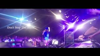 tofubeats & Seira Kariya LIVE set at Shibuya clubQUATTRO 2014