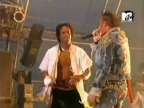 The Prodigy - live @ september 27 1997 - Russia, Moscow, Manege Square - MTV proshot