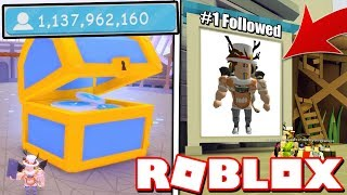 BOSS CHEST GAVE ME #1 FOLLOWERS IN FAME SIMULATOR!! Roblox *1 BILLION FOLLOWERS*
