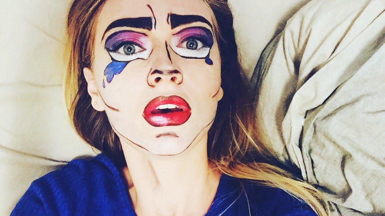 halloween makeup 2017 youtube. Black Bedroom Furniture Sets. Home Design Ideas