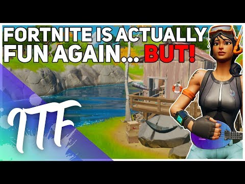 Fortnite Is Almost Perfect...Almost. (Fortnite Battle Royale)