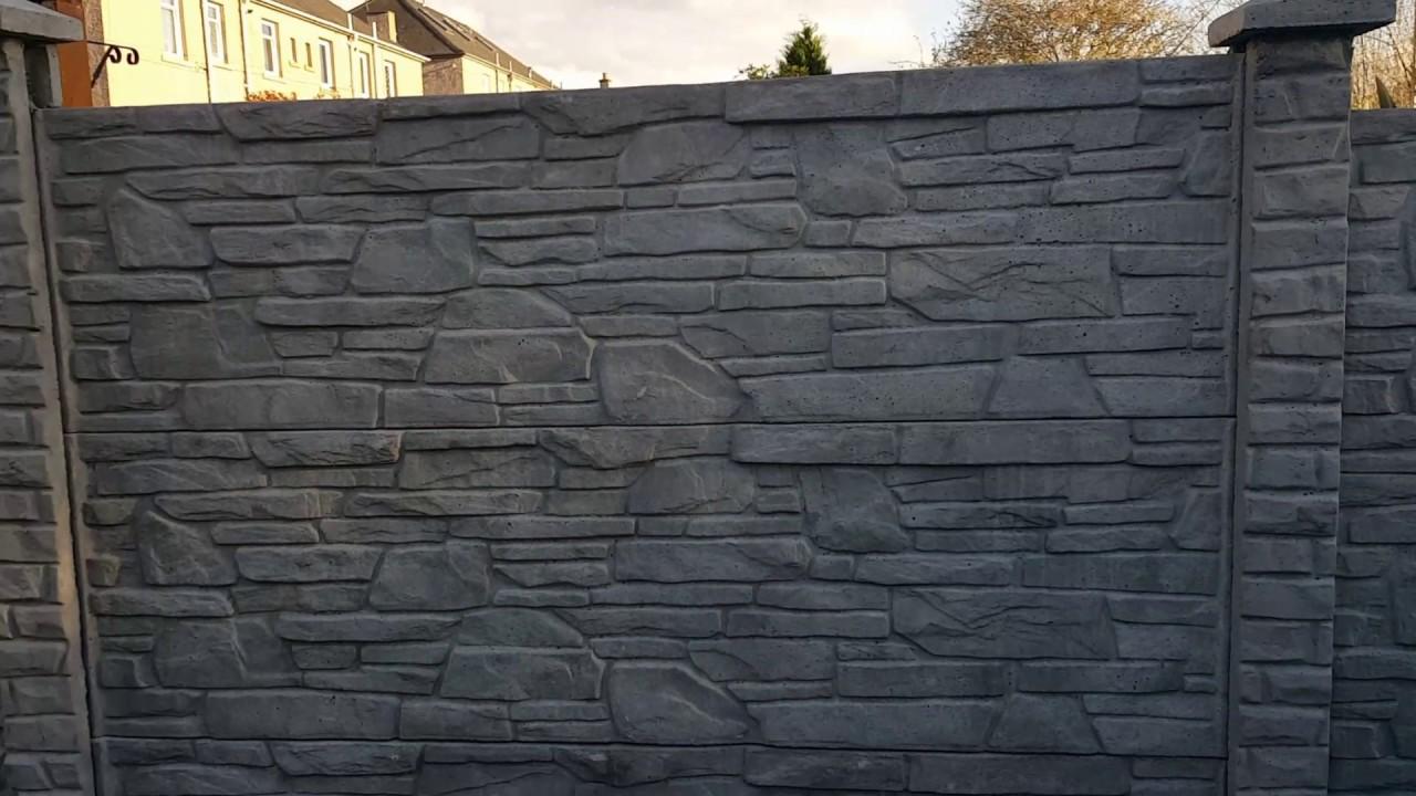 Decorative Concrete Fence Panels Www Eurofence Uk Com
