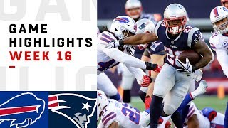 Bills vs. Patriots Week 16 Highlights | NFL 2018