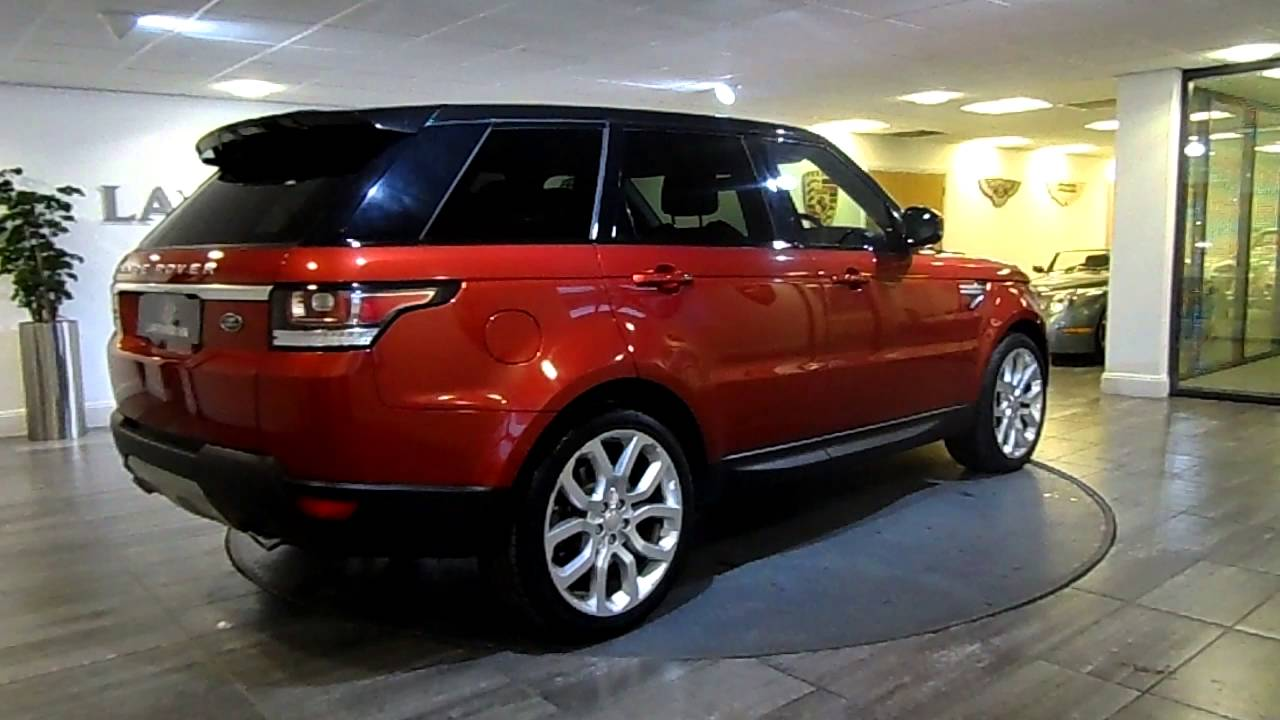 Range Rover Sport Red with Black Lawton Brook  YouTube
