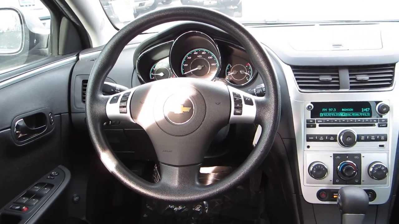 2012 Chevrolet Malibu Silver Ice Stock 607041 Interior
