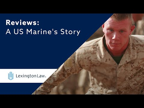 US Marine Credit Repair Testimonial | Lexington Law