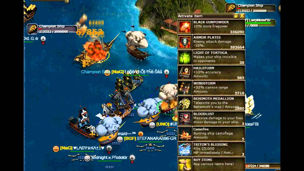 sea fight game