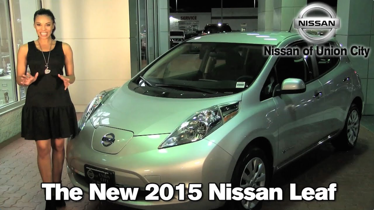 The New 2015 Nissan Leaf   Union City, Atlanta, College Park, GA 2015 Nissan  Leaf S SV SL