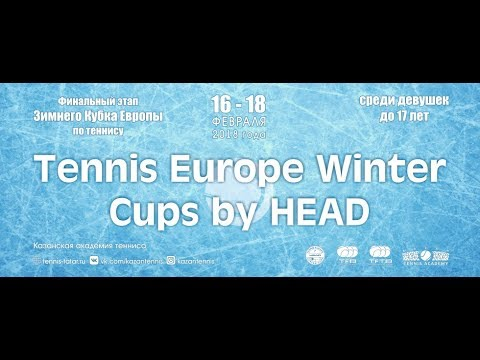 Tennis Europe Winter Cups by HEAD 2018 in Kazan Tennis Academy (Day 3)