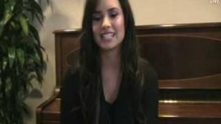 Demi Lovato - Live Video Chat [14/04/09] (Part 2/4)