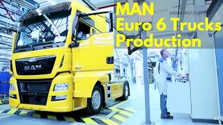 MAN Euro 6 Trucks Production