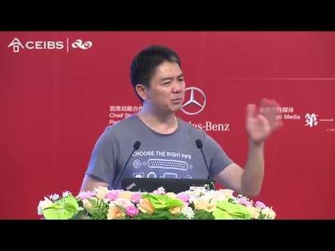Liu Qiangdong Explains JD.com's Strategic Vision