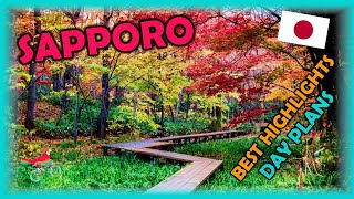 SAPPORO Japan Travel Guide. Free Self-Guided Tours (Highlights, Attractions, Events)
