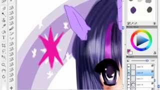 MLP:FiM Twilight Sparkle (Corel Painter Essentials 4)~ Speed Paint